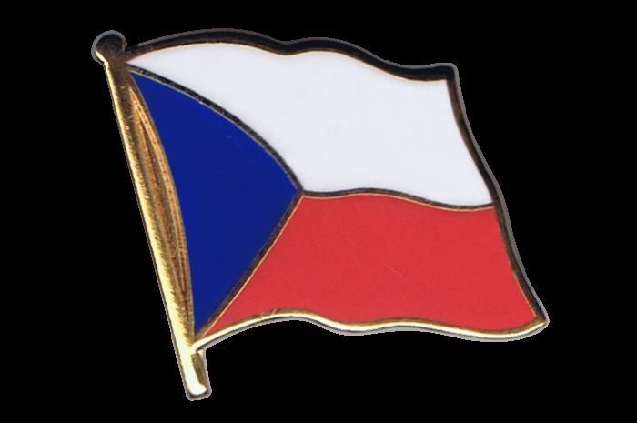 Spilla Bandiera Repubblica Ceca 2 X 2 Cm Vendita Bandiere It