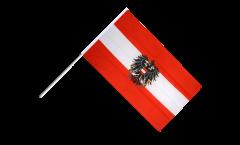 Bandiera da asta Austria con l'aquila - 60 x 90 cm