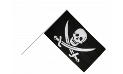 Bandiera da asta Pirata con due spade - 60 x 90 cm
