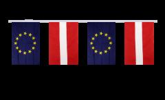 Cordata dell'amicizia Lettonia - Unione Europea EU - 15 x 22 cm