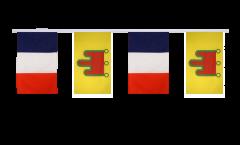 Cordata dell'amicizia Francia - Alvernia - 30 x 45 cm