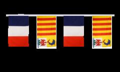Cordata dell'amicizia Francia - Provenza-Alpi-Costa Azzurra - 30 x 45 cm