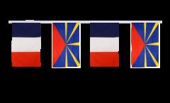 Cordata dell'amicizia Francia - Réunion - 30 x 45 cm