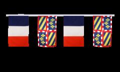 Cordata dell'amicizia Francia - Borgogna - 30 x 45 cm
