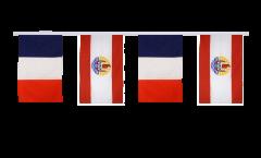 Cordata dell'amicizia Francia - Polinesia francese - 30 x 45 cm