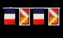 Cordata dell'amicizia Francia - Alsazia - 30 x 45 cm