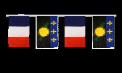 Cordata dell'amicizia Francia - Guadelupe - 30 x 45 cm