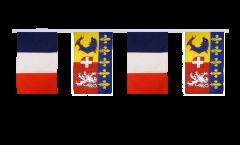 Cordata dell'amicizia Francia - Rodano Alpi - 30 x 45 cm