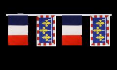 Cordata dell'amicizia Francia - Centro - 30 x 45 cm