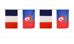 Cordata dell'amicizia Francia - Paris Parigi - 30 x 45 cm