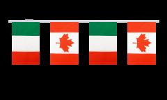 Cordata dell'amicizia Italia - Canada - 15 x 22 cm