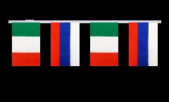Cordata dell'amicizia Italia - Russia - 15 x 22 cm