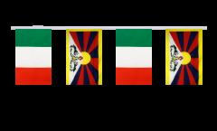 Cordata dell'amicizia Italia - Tibet - 15 x 22 cm