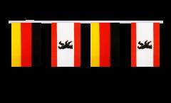 Cordata dell'amicizia Germania - Germania Berlino - 15 x 22 cm