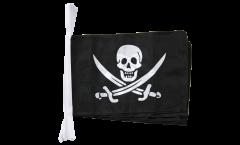 Cordata Pirata con due spade - 30 x 45 cm