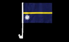 Bandiera per auto Nauru - 30 x 40 cm