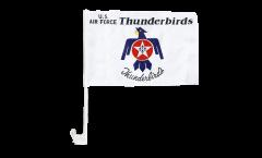 Bandiera per auto USA Thunderbirds US Air Force - 30 x 40 cm