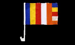 Bandiera per auto Buddhista - 30 x 40 cm