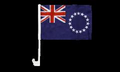 Bandiera per auto Isole di Cook - 30 x 40 cm