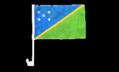 Bandiera per auto Isole di Salomone - 30 x 40 cm