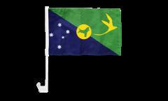Bandiera per auto Isola Christmas - 30 x 40 cm