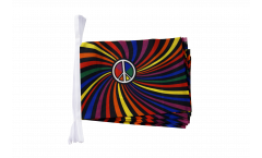 Cordata Arcobaleno Peace Swirl - 15 x 22 cm