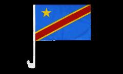 Bandiera per auto Repubblica democratica del Congo - 30 x 40 cm