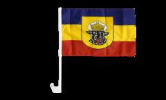 Bandiera per auto Germania Meclenburgo vecchia - 30 x 40 cm