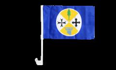 Bandiera per auto Italia Calabria - 30 x 40 cm