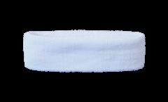 Fascia antisudore Unicolore Bianca - 6 x 21 cm