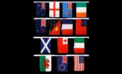 Cordata Coppa del Mondo di Rugby 2013 - 30 x 45 cm