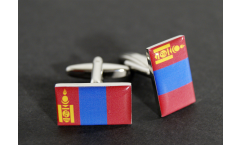 Gemelli Bandiera Mongolia - 18 x 12 mm