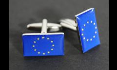 Gemelli Bandiera Unione Europea EU - 18 x 12 mm