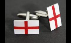 Gemelli Bandiera Inghilterra - 18 x 12 mm