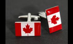 Gemelli Bandiera Canada - 18 x 12 mm