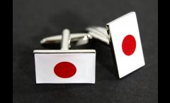 Gemelli Bandiera Giappone - 18 x 12 mm
