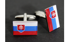 Gemelli Bandiera Slovacchia - 18 x 12 mm