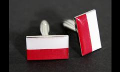 Gemelli Bandiera Polonia - 18 x 12 mm