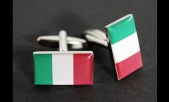 Gemelli Bandiera Italia - 18 x 12 mm