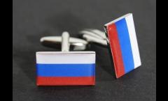 Gemelli Bandiera Russia - 18 x 12 mm