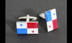 Gemelli Bandiera Panama - 18 x 12 mm