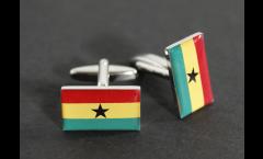 Gemelli Bandiera Ghana - 18 x 12 mm