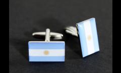 Gemelli Bandiera Argentina - 18 x 12 mm