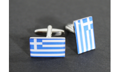 Gemelli Bandiera Grecia - 18 x 12 mm