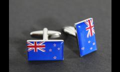 Gemelli Bandiera Nuova Zelanda - 18 x 12 mm