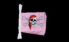 Cordata Pirata rosa fucsia - 15 x 22 cm