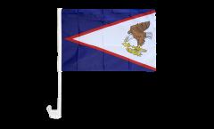 Bandiera per auto Samoa Americane - 30 x 40 cm