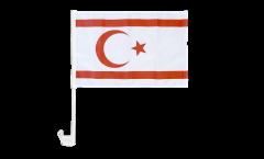 Bandiera per auto Cipro del Nord - 30 x 40 cm