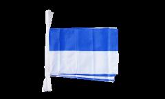 Cordata blu-bianca - 30 x 45 cm