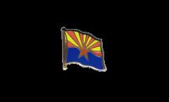 Spilla Bandiera USA Arizona - 2 x 2 cm